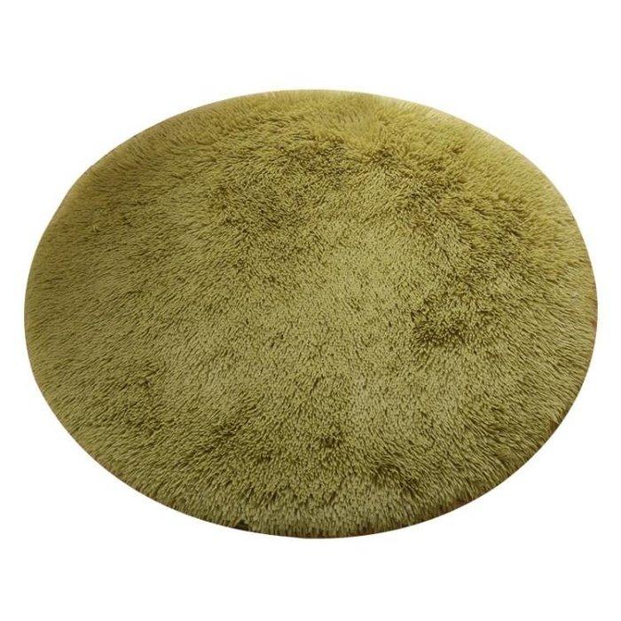 2017~地毯-圓形地毯絲毛客廳茶几地毯臥室床邊電QDSC-16909