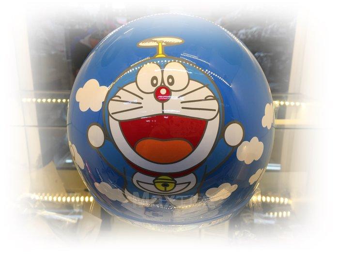 Max工作室~兒童 安全帽【多啦A夢 小叮噹:#1水藍】附:PC鏡片 超商取貨付款OK^^