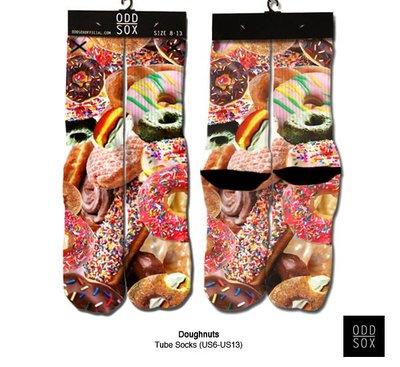 GOODFORIT /  美國ODD SOX Doughnuts Tube Socks繽紛甜甜圈主題中筒襪