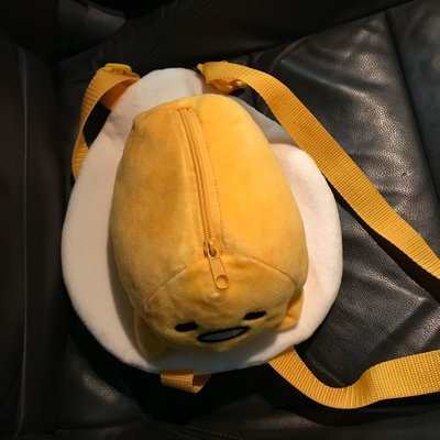 蛋黃哥 gudetama 梳乎蛋 背囊 sanrio 毛公仔 背包