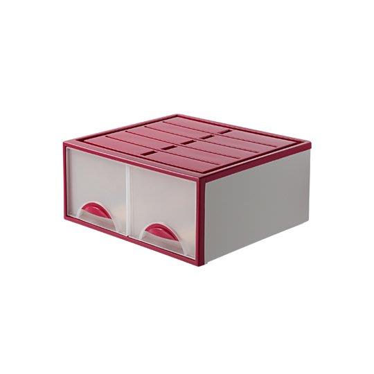LOFT/4入/免運/抽屜整理箱/白色系/雙層櫃/收納箱/抽屜整理/堆疊/尿片收納/直購價