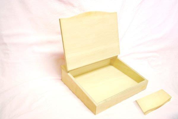 (完售 置物小盒 29.3x26.5x7.5cm 白木彩繪展示商店