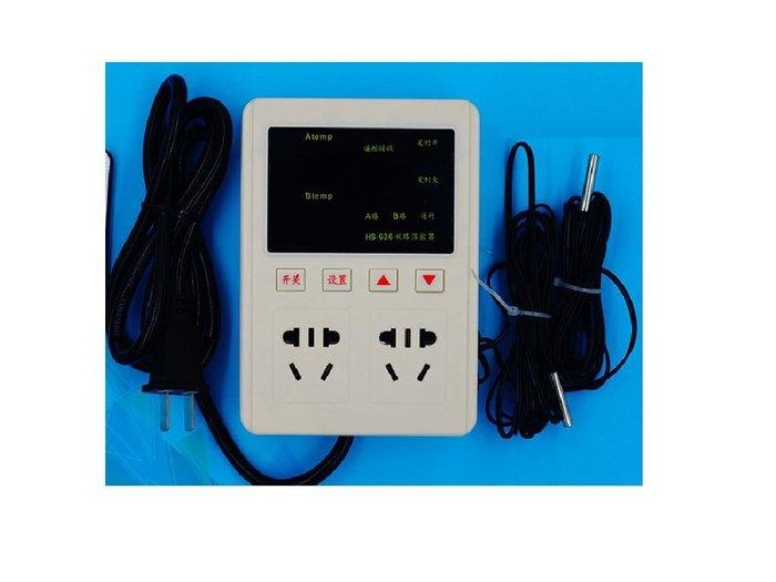 AC85~250V雙輸出智能溫度控制器