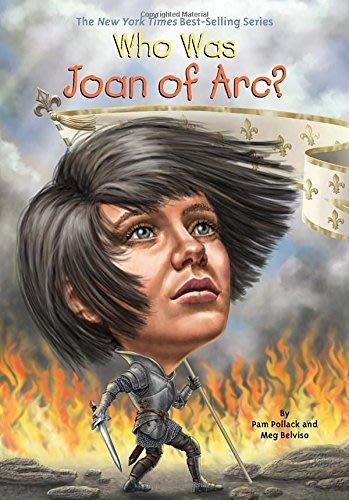*小貝比的家*WHO WAS JOAN OF ARC?/平裝/7~12歲/偉人傳記