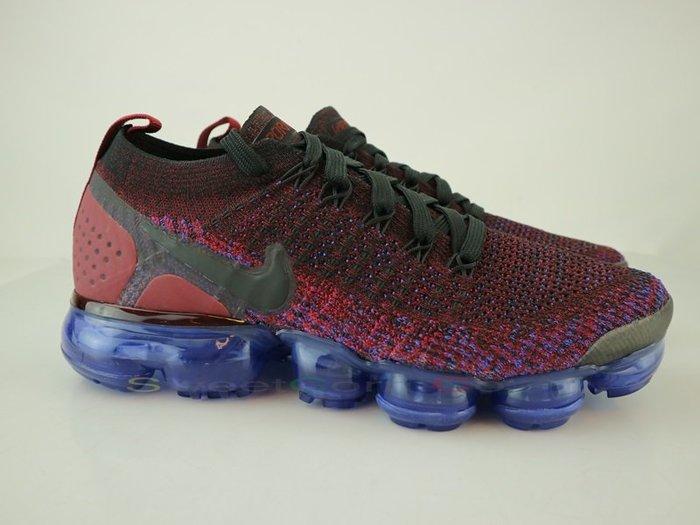 玉米潮流本舖 W NIKE AIR VAPORMAX FLYKNIT 2 942843-006 深紫酒紅 氣墊 女慢跑鞋