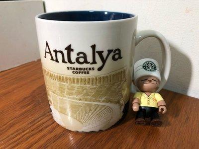星巴克 土耳其 安塔利亞 城市杯 馬克杯 city mug icon 有標無瑕 16oz(大杯)