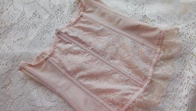 *二手美品*20BOB5【日本製~遠紅外線~粉色調整型收腹腰夾】~M號~直購1800元~黛安芬~華歌爾參考