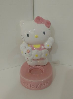 sanrio hello kitty瓷娃置物架~1996絕版商品~收藏出清1342410