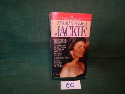【愛悅二手書坊 01-42】A WOMAN NAMED JACKIE