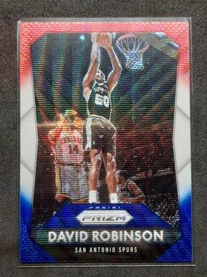 David Robinson 2015-16 Prizm Red White and Blue