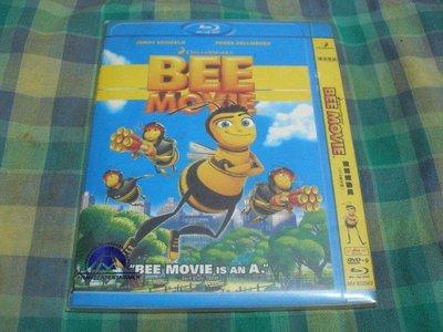 Blu-ray影片@蜜蜂總動員BEE MOVIE A38