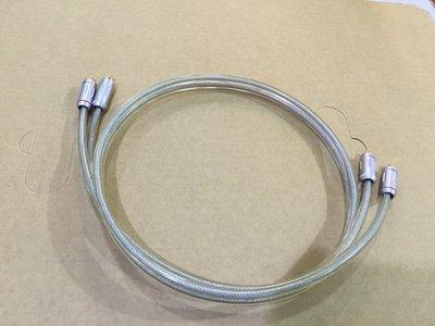 中和 鴻府音響製作 無氧銅鍍錫膏音質2聲道訊號線   1Mx2 特製日本 Furutech純銅端子
