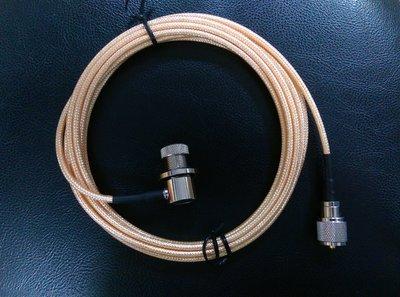 [超高頻無線電聯盟] 2D銀線 訊號線 2米 2M 台灣製造 銀線 軍規 台製銀線 2D 無線電專用 三件式 M頭 高雄市