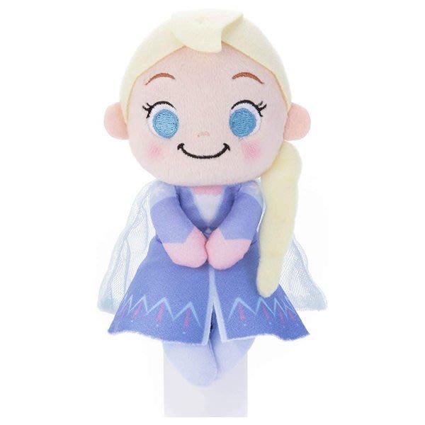 【艾莎 坐姿娃娃】冰雪奇緣2 艾莎 坐姿娃娃 玩偶 日本正版 該該貝比日本精品 ☆