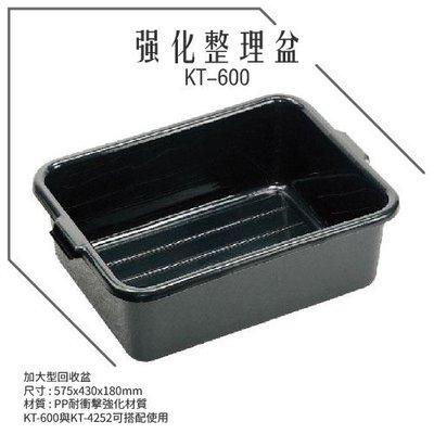 特賣 KT-600《強化整理盆》儲物盒 整理盆 收納盒 整理盒 碗盤回收盆
