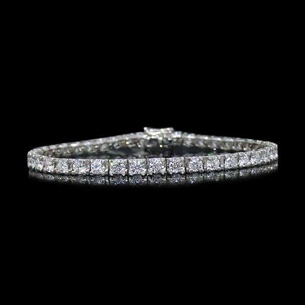 【LOVES鑽石批發】天然鑽石手鍊-5分C形款-2.60克拉D color-H&A-18K金-另有鉑金/白金 另售GIA鑽石 LOVES DIAMOND