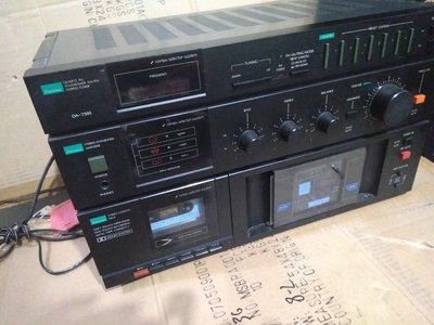 Sansui da t500 卡座 收音機 擴大機