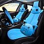 眾泰2008 T200 T300 T新款500 T600新 T700新款汽車坐墊全包毛絨座椅套