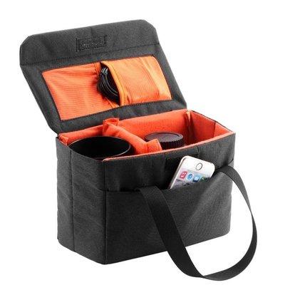 背包客BBK-WD便攜摺疊內膽加厚微單眼相機收納包手提攝影包內膽包    全館免運