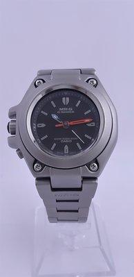 【Jessica潔西卡】CASIO G-SHOCK-MRG鈦金屬石英腕錶