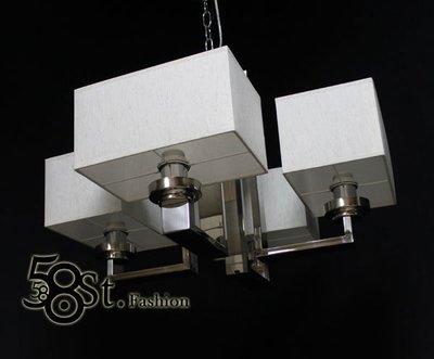 【58街-高雄館】義大利款式「Sir Lancelot's pendant lamp 圓桌武士 吊燈_4燈款」複刻版。GH-348