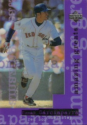 (T)明星游擊手 Nomar Garciaparra 1997 UpperDeck Amazing Great