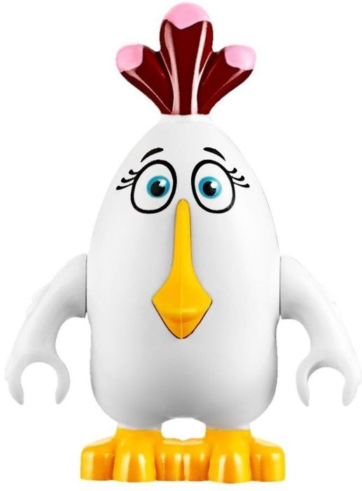 【LEGO 樂高】全新正品 益智玩具 積木/ Angry Birds 憤怒鳥玩電影 75823 單一鳥偶:Matilda