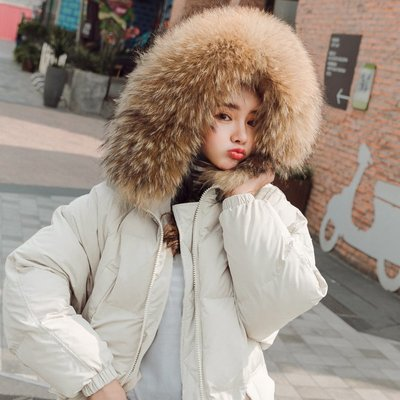 防風保暖有型中長大衣 舖棉襖毛邊連帽口袋長版外套 艾爾莎【TAE8645】