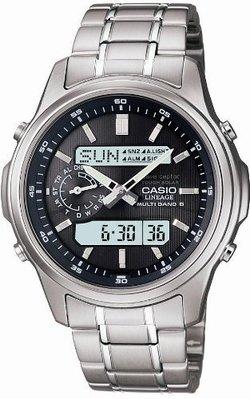 日本正版 CASIO 卡西歐 LINEAGE LCW-M300D-1AJF 電波錶 男錶 太陽能充電 日本代購