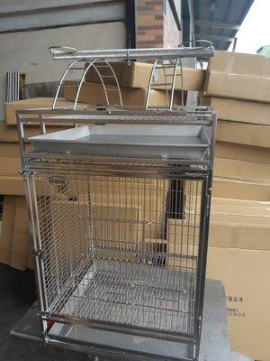 鸚鵡籠 鳥籠 白鐵籠 鐵籠 不鏽鋼304 站台 鸚鵡籠子