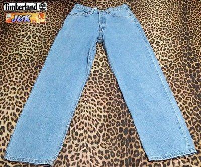【J&K嚴選】美國 Timberland牛仔褲 直筒 男款-顏色:淺藍 尺寸: 28腰【特賣】LV來自星星的你