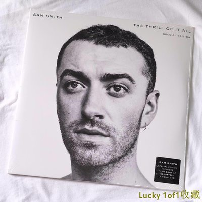 Lucky 1of1收藏Sam Smith The Thrill Of It All 限量 白膠 2LP