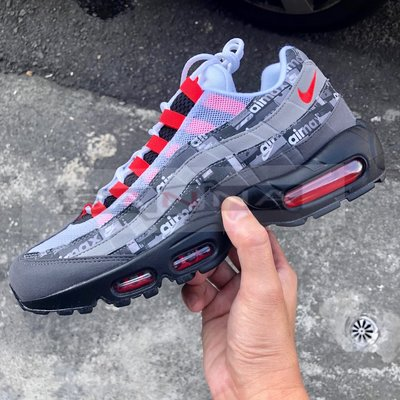 ◇ATMOS x Nike Air Max 95 We Love PRNT AQ0925-002 聯名款 黑紅 慢跑鞋◇