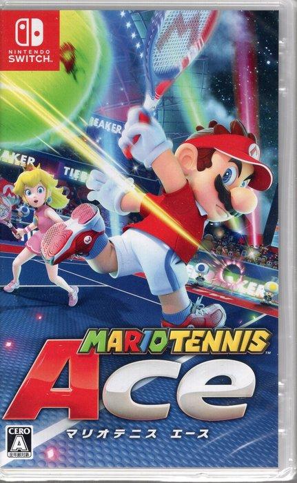 現貨中Switch遊戲 NS 瑪利歐網球 王牌高手 Mario Tennis Ace 中文版 附卡貼【板橋魔力】