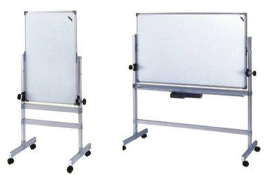 【傢俱城】鋁合金雙面磁性白板架(附白板)(DIY-自組)125-04