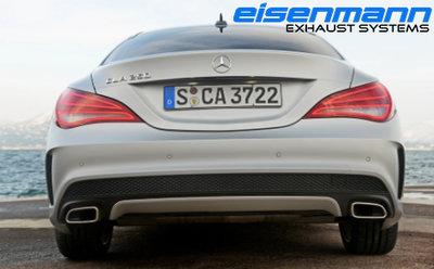 【樂駒】Eisenmann Mercedes-Benz C117 CLA250 4-Matic 中尾段 排氣管