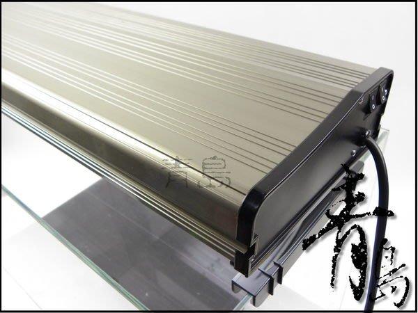 Q。。青島水族。。D-ADP-011台灣ADP---鋁合金認證燈具(含燈管.可掀式腳架)==PL-2.9尺四燈-36W*4
