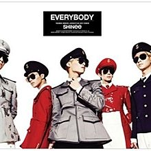 SHINEE OFFICIAL EVERYBODY POSTER