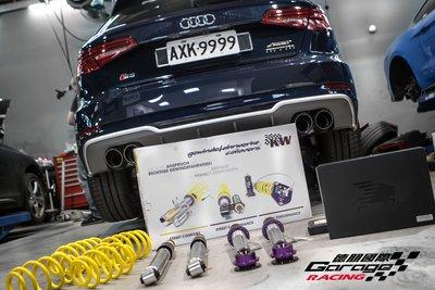 德朋國際 / KW V3 高低阻尼可調避震器  AUDI A4  實裝