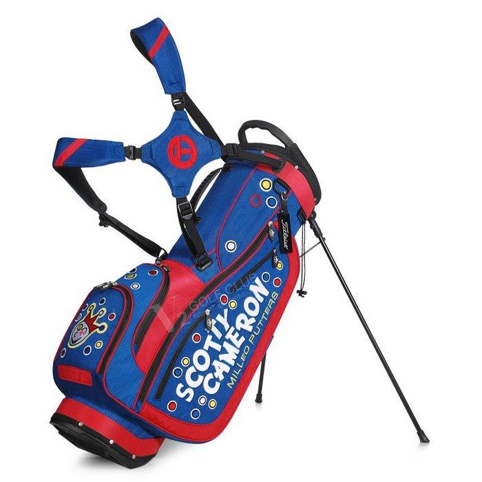 5C精選@Scotty Cameron卡梅隆高爾夫球包男女通用支架包球袋超輕雙肩背