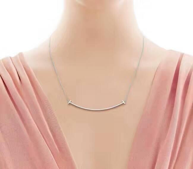 Melia 米莉亞代購 Tiffany&Co. 925純銀 Tiffany 蒂芙尼 項鍊 手鍊 手環飾品 禮物 大微笑