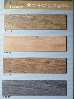 美的磚家~塗佈氧化鋁FLOOR TEC超耐磨塑膠地磚塑膠地板~質感優防焰~15cm*90cm*3m/m每坪1100元
