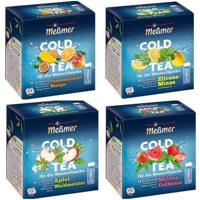 德國美思Meßmer Cold Tea 夏日限定涼茶茶包14入