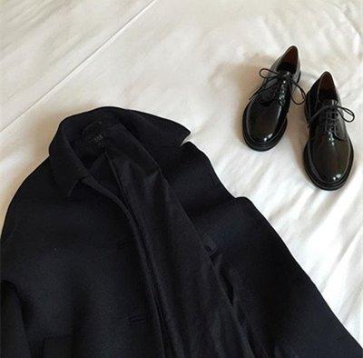 Alexa&Love_萬年款真皮牛皮中性牛津皮鞋(特)