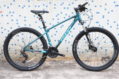 山地車自行車剎車捷安特ATX860全新鋁合金油剎山地自行車27.5英寸30速男士學生20款