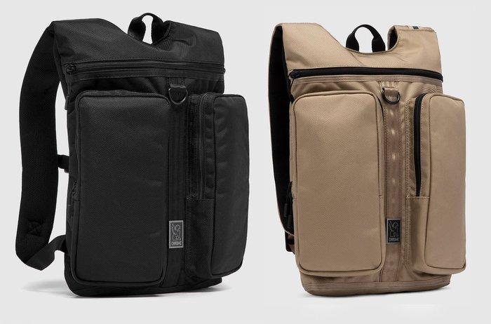 { POISON } CHROME MXD FATHOM BACKPACK 後背包 都會型態 簡約強固設計