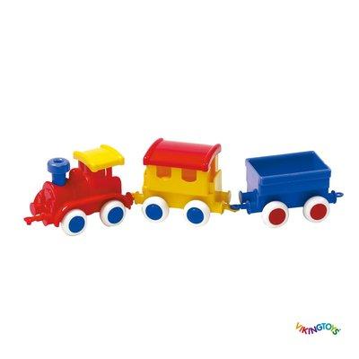 【晴晴百寶盒】瑞典進口 夢想小火車 VIKINGTOYS 男孩最愛 車車控 禮物益智遊戲玩具高品質W207