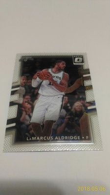 2017-18 PANINI OPTIC~LaMarcus Aldridge 金屬普卡 # 131
