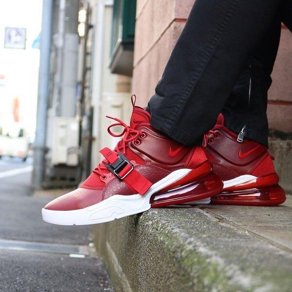 【Cheers】 Nike Air Force 270 Red Croc 红色 紅白 男鞋 AH6772-600 男