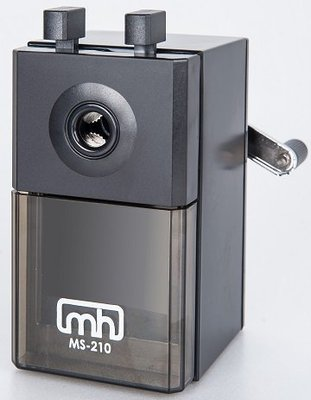 MS-210 黑色可調式鉛筆機 (鉛筆直徑7~12mm通用) 好好逛文具小舖